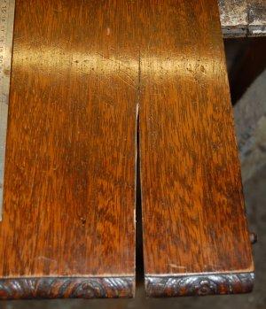 Restoring Mahogany Extending Table